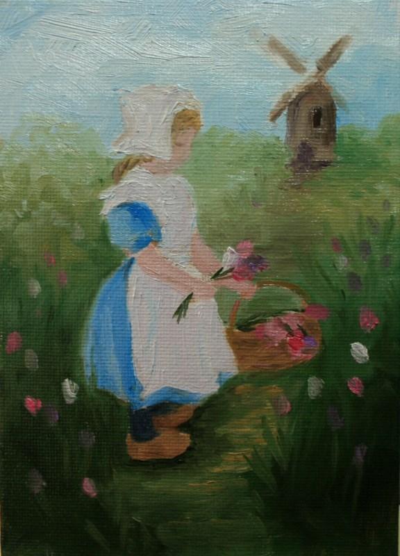 """""""Thea"""" original fine art by Jean Nelson"""