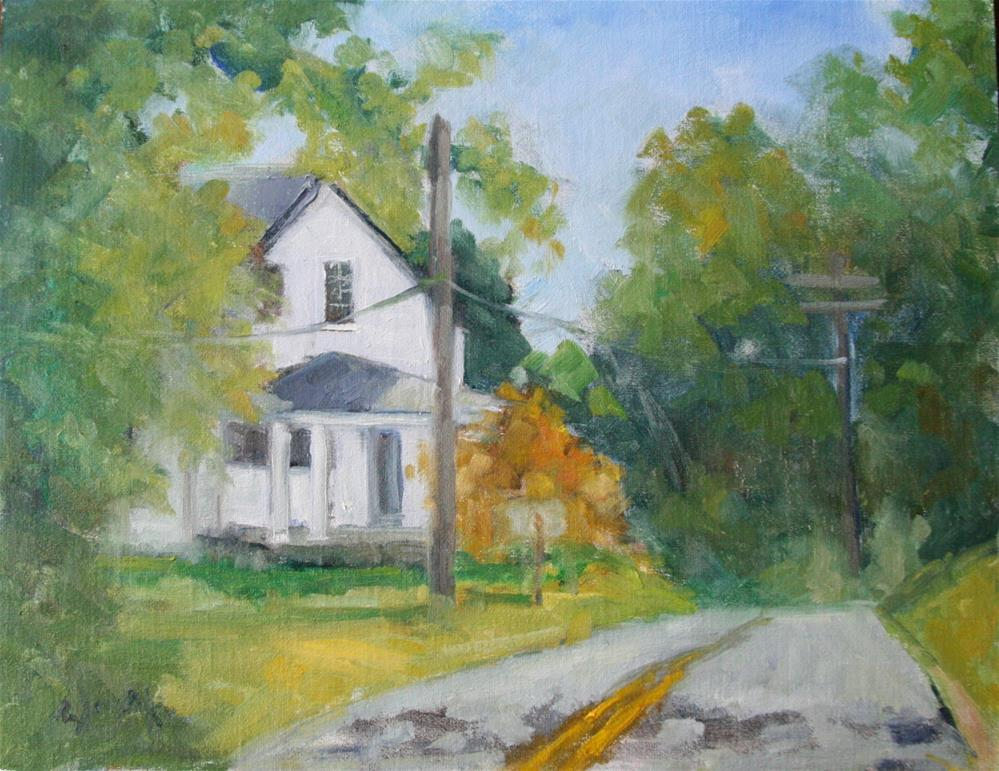 """Near Belmont"" original fine art by Carol Josefiak"