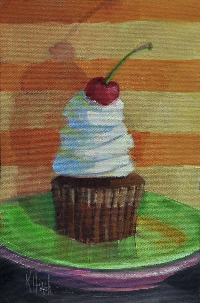 """Sweet Treat"" original fine art by kathy hirsh"