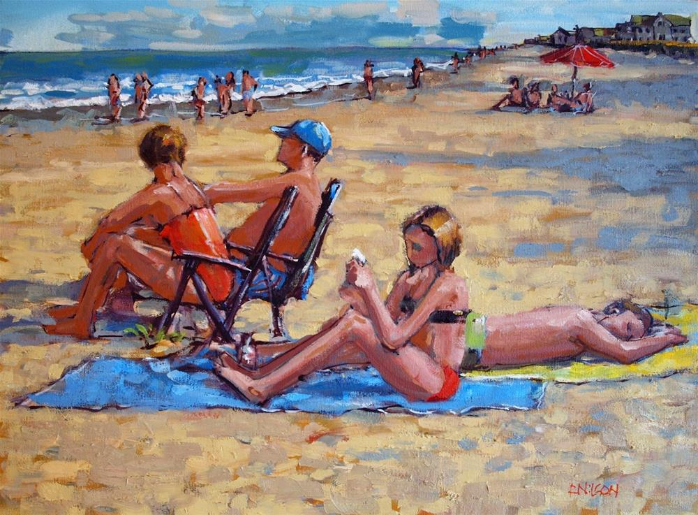 """Last Summer"" original fine art by Rick Nilson"