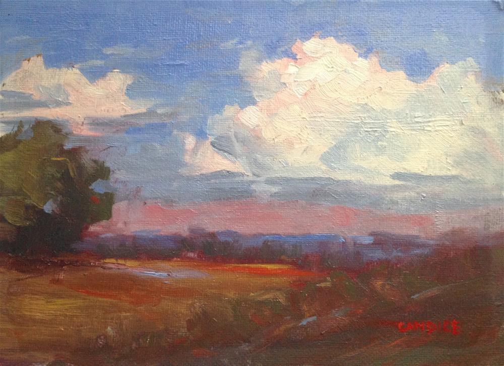 """""""October Sky"""" original fine art by Fine Art of René"""