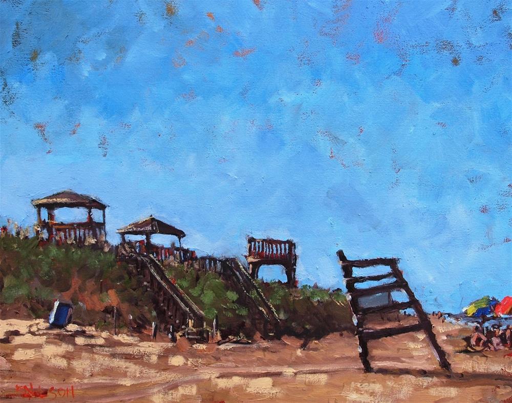 """Unattended"" original fine art by Rick Nilson"