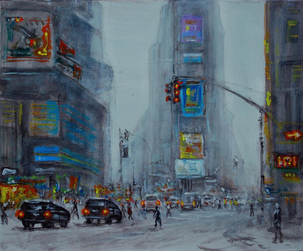 """Cityscape2"" original fine art by vishalandra dakur"