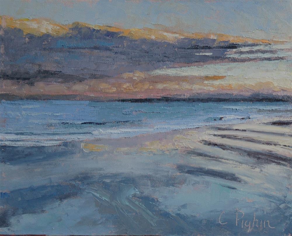 """Colors on the Sand"" original fine art by Carol Pighin"