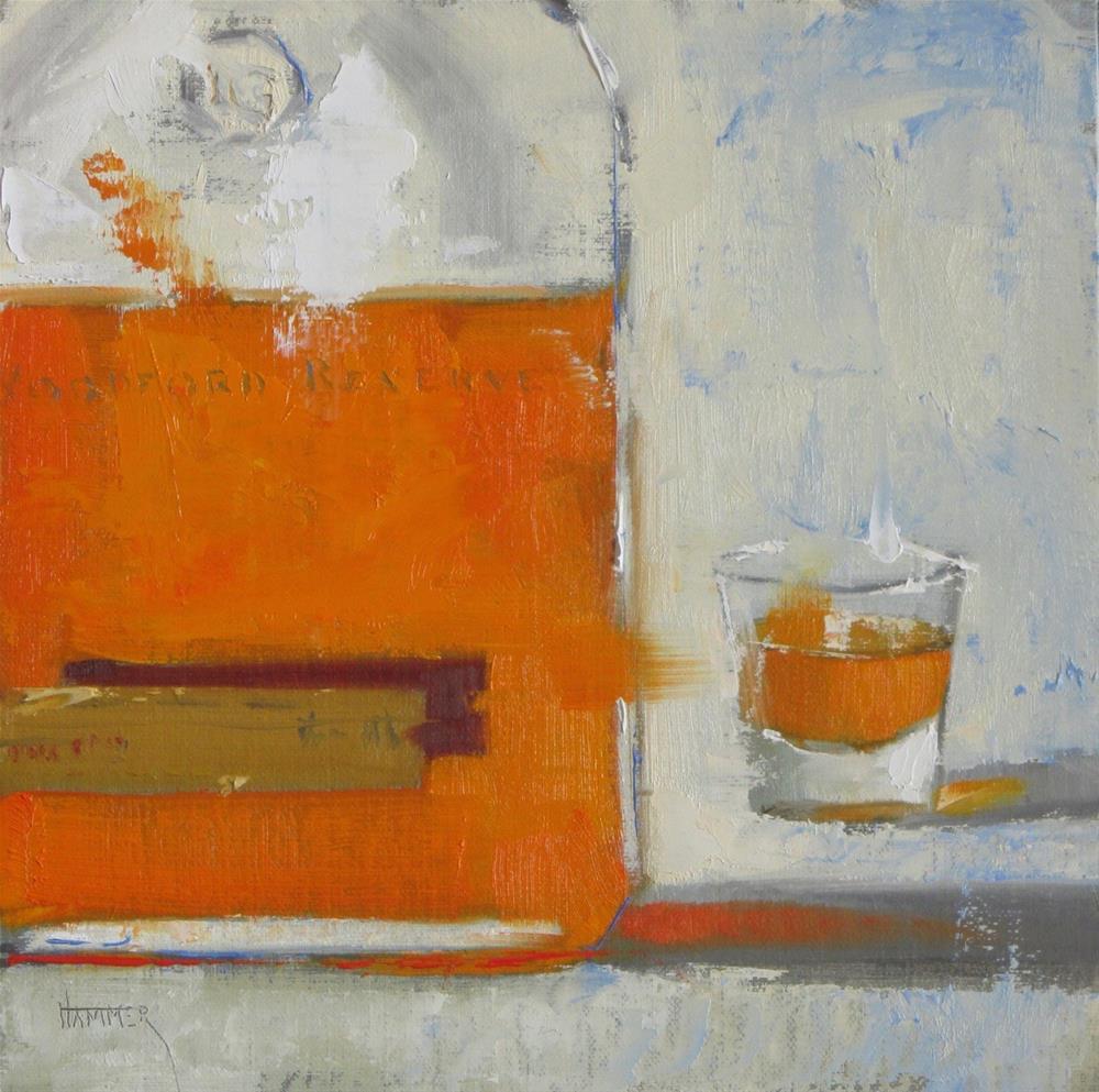 """Woodford No.28  8in x 8in  oil"" original fine art by Claudia Hammer"