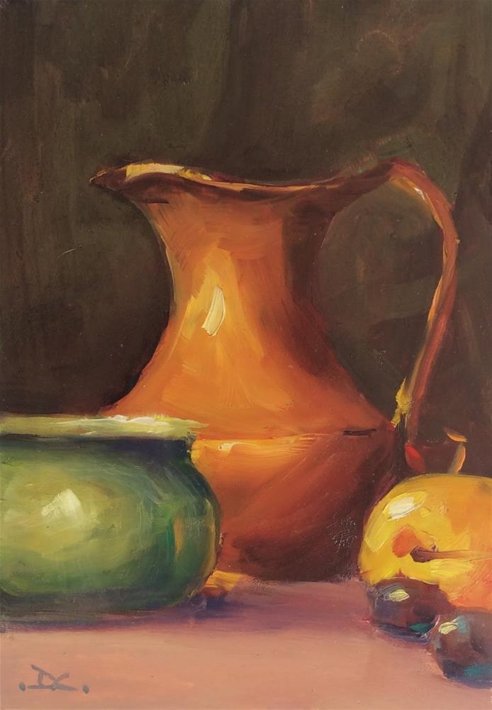 """"""" CLASSIC """" original fine art by Doug Carter"""
