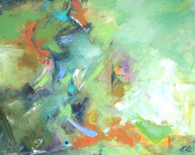 """""""Ferma"""" original fine art by Elizabeth Chapman"""