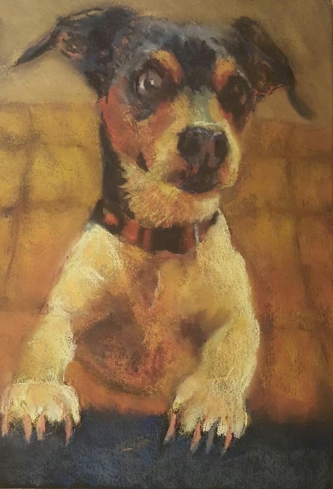 """Petal"" original fine art by Rentia Coetzee"