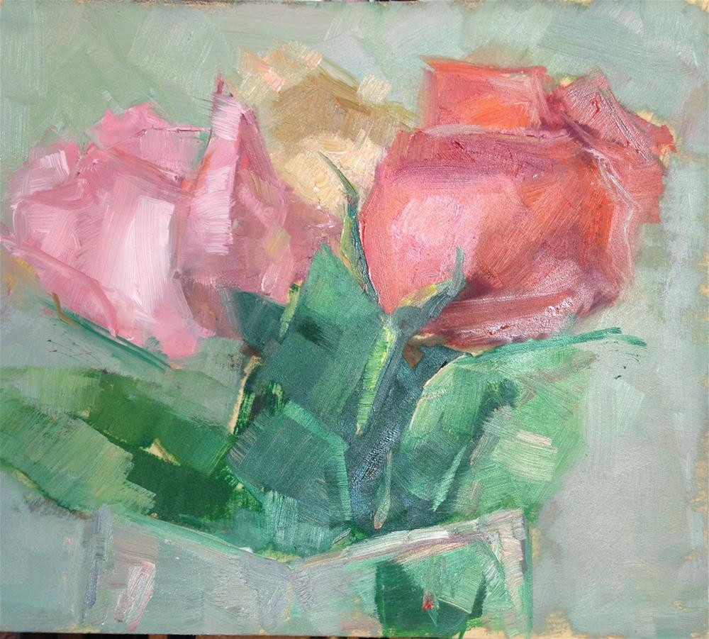 """Early Valentine"" original fine art by Carol Josefiak"