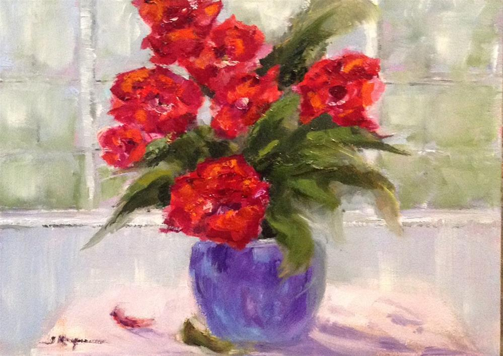 """Flower Study"" original fine art by Shelley Koopmann"