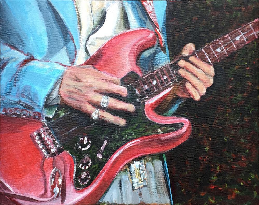 """SRV Hands"" original fine art by Michael Mikottis"