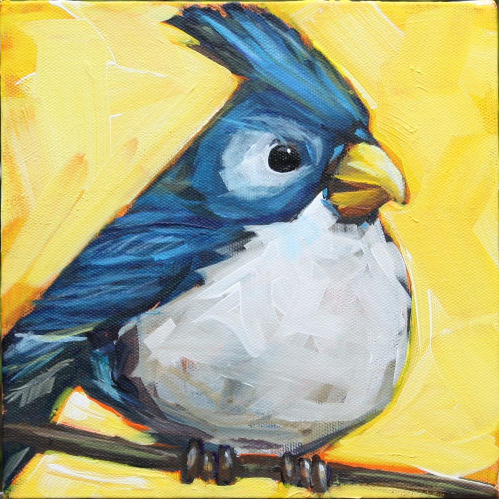 """Jay"" original fine art by Kandice Keith"