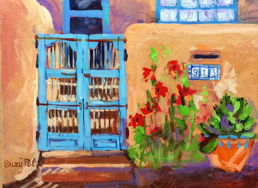 """Santa Fe #13"" original fine art by Suzy 'Pal' Powell"