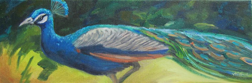 """Strut"" original fine art by Michel McNinch"