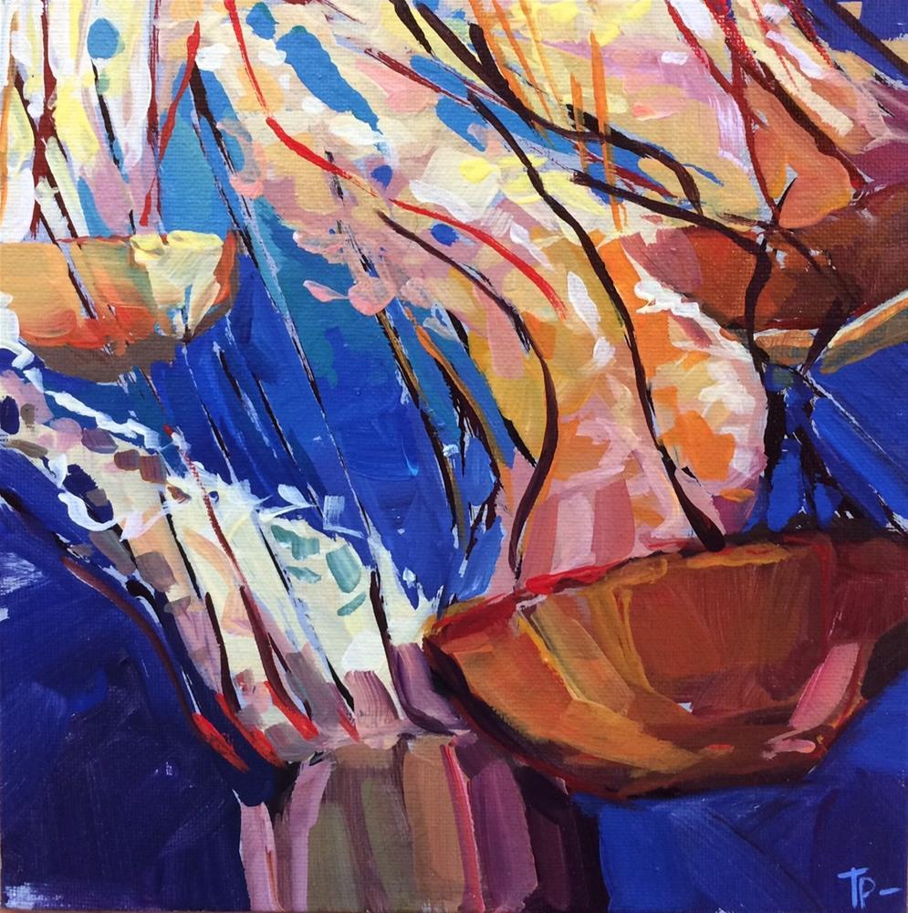 """Jelly Swarm"" original fine art by Teddi Parker"