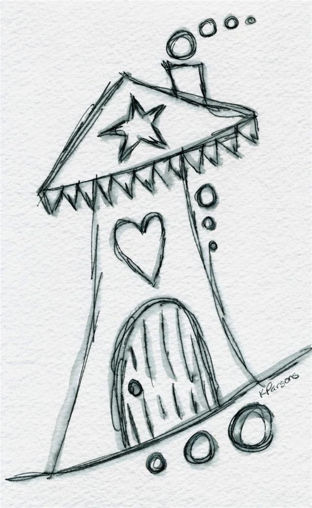 """Love in da House"" original fine art by Kali Parsons"