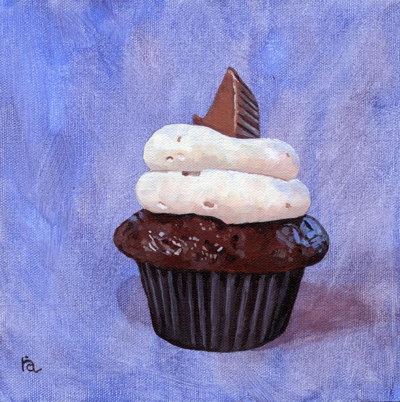 """Orgasmic Pastry"" original fine art by Ria Hills"