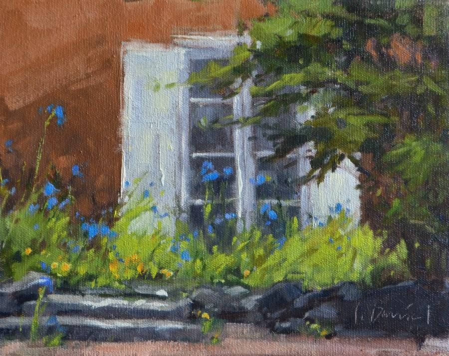 """Ashantilly Wildflowers"" original fine art by Laurel Daniel"