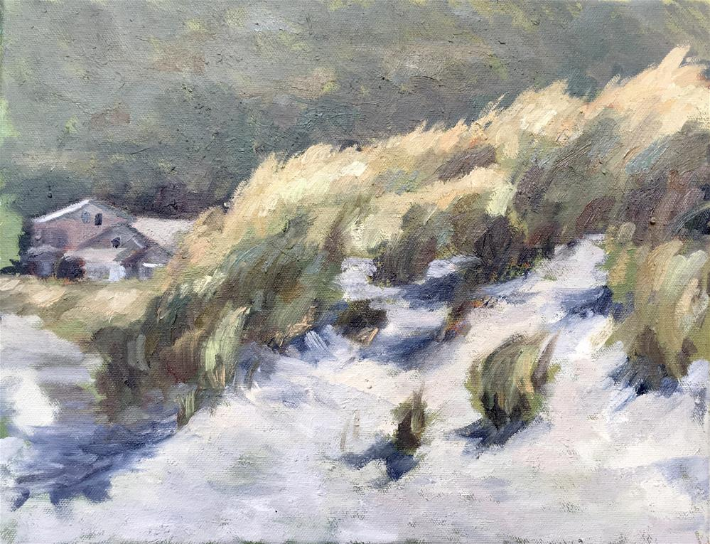 """Nehalem Beach, Oregon"" original fine art by Allison Doke"