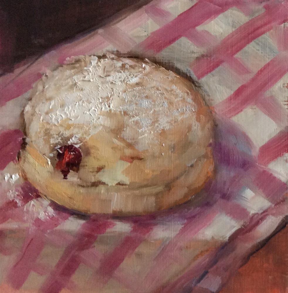 """Paula's Donuts"" original fine art by Carol Josefiak"