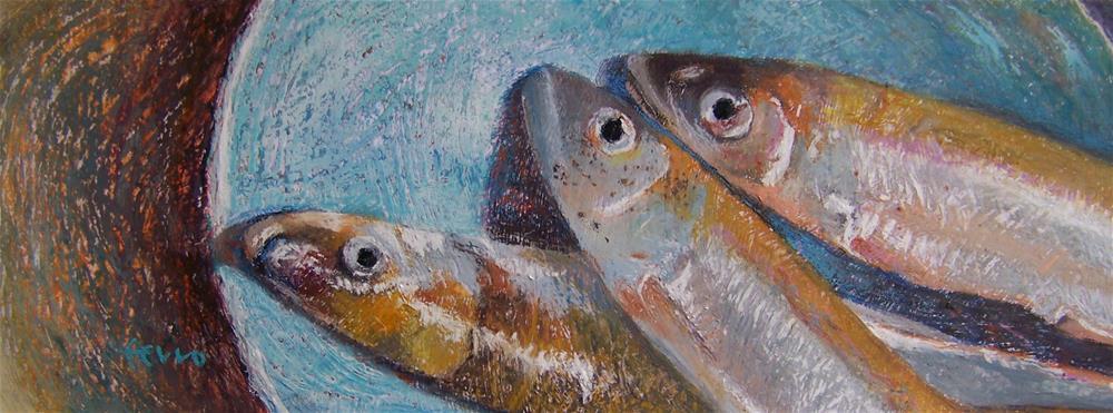 """""""Delicate Delicacy"""" original fine art by Susan Ferro"""