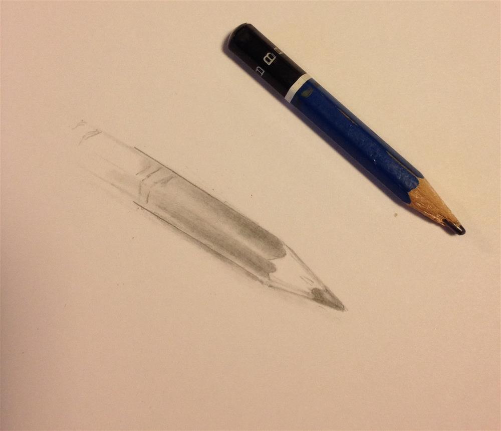 """""""Daily sketch #3"""" original fine art by Dawn Melka"""
