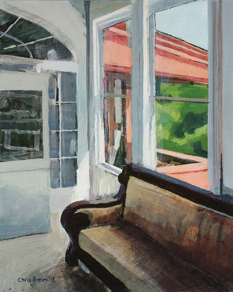 """Sitting Room"" original fine art by Chris  Breier"