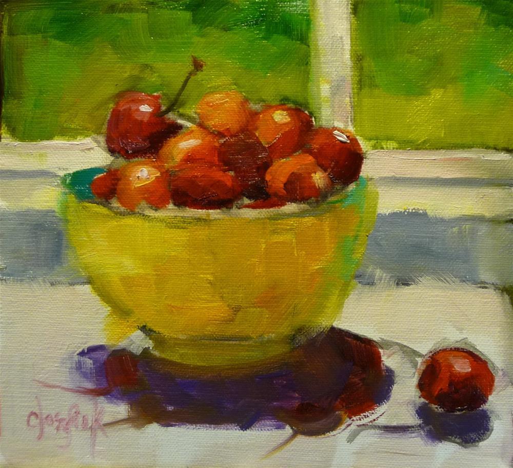 """Sunny Window"" original fine art by Carol Josefiak"