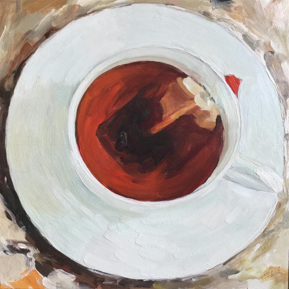 """Cuppa Tea"" original fine art by Paula Howson-Green"