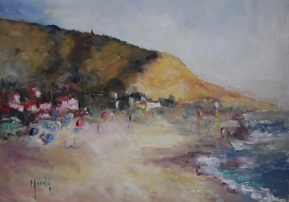 """Beach Study 5"" original fine art by Deborah Harold"