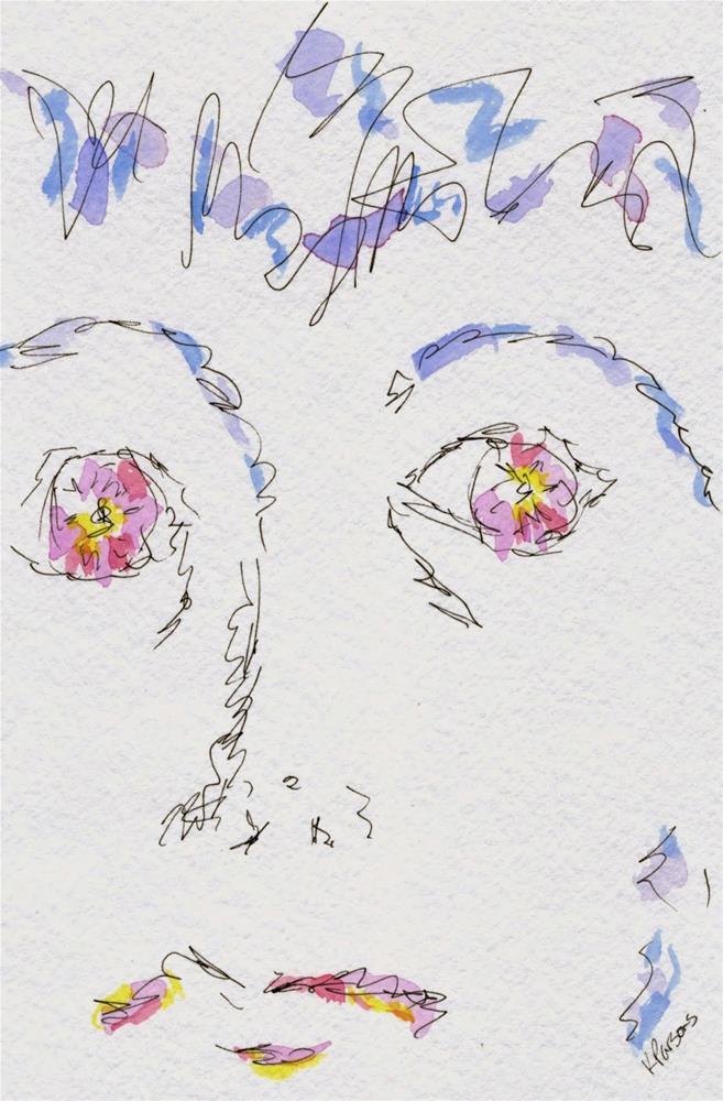 """Panic"" original fine art by Kali Parsons"