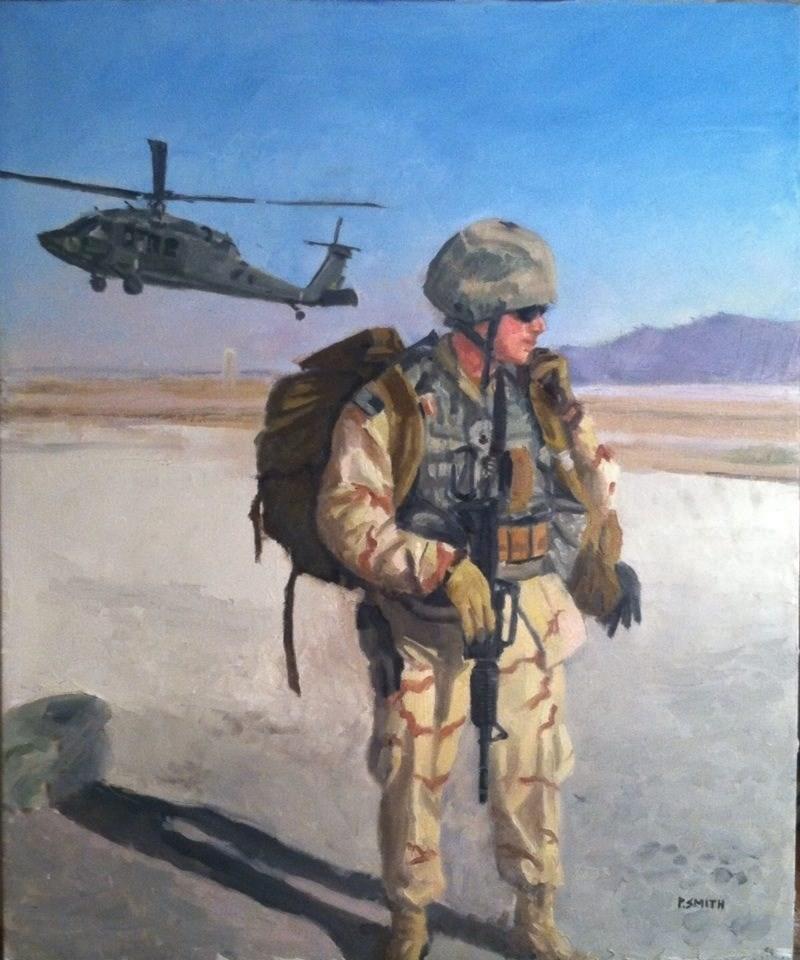 """uscg raids"" original fine art by paul smith"