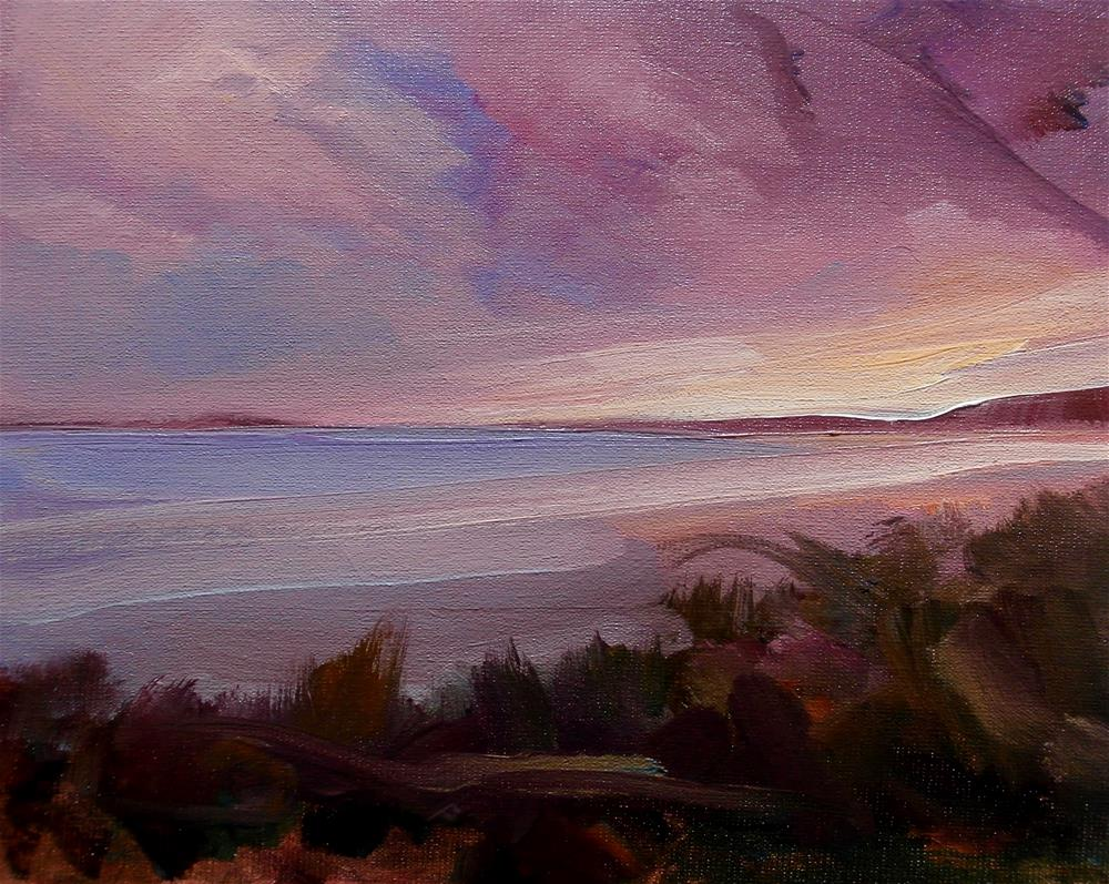 """Evening"" original fine art by Anne Wood"