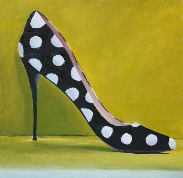 """Dressed to Kill"" original fine art by Sharon Lewis"