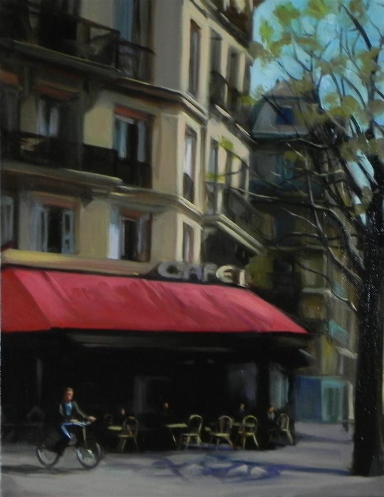 """Corner Cafe"" original fine art by Jonelle Summerfield"