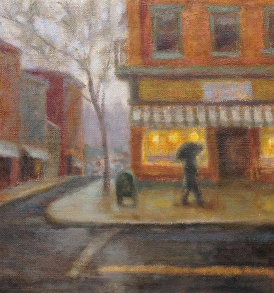 """""""New Cityscape Study"""" original fine art by Eden Compton"""