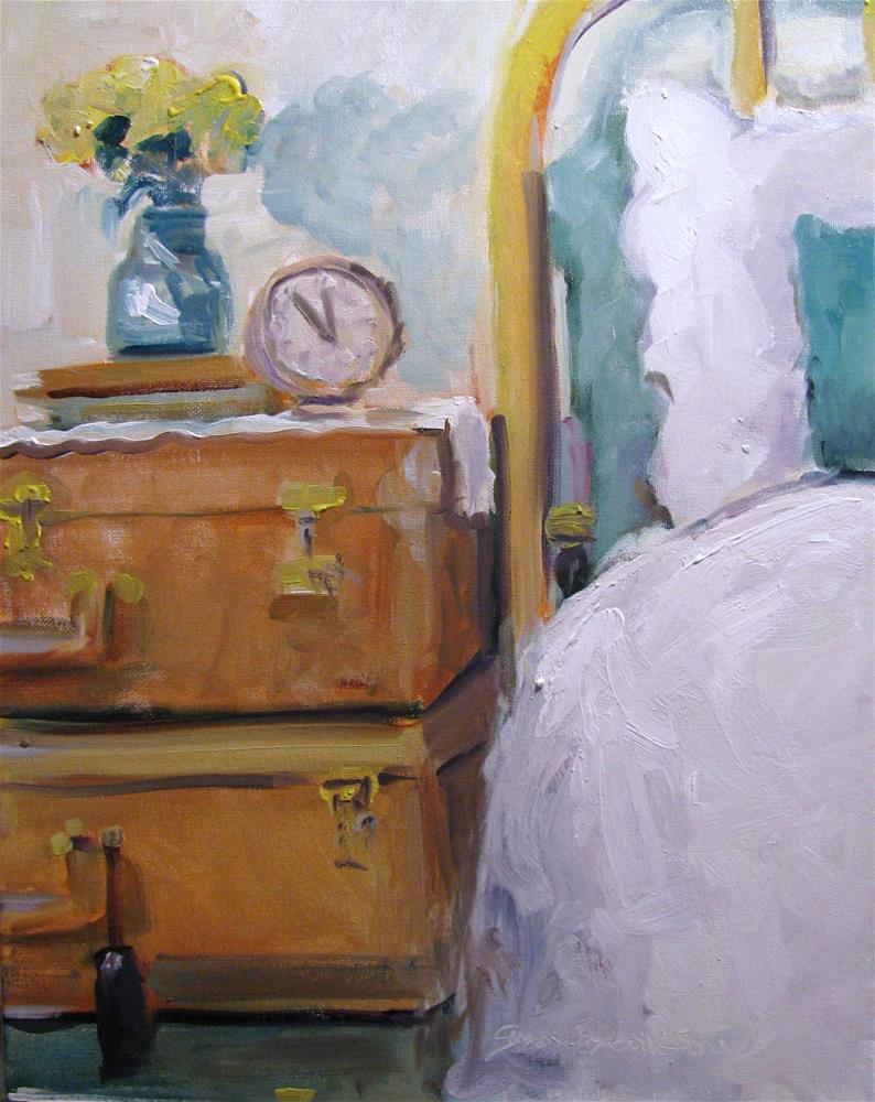 """Five Till Noon"" original fine art by Susan Elizabeth Jones"