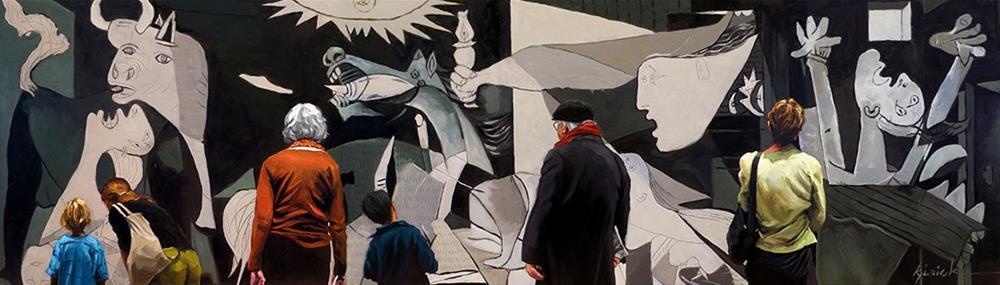 """""""War Paint"""" original fine art by Karin Jurick"""