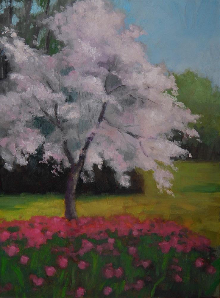 """Full Bloom"" original fine art by Lisa Kyle"