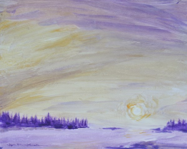 """Dawn's Early Light"" original fine art by Jana Johnson"