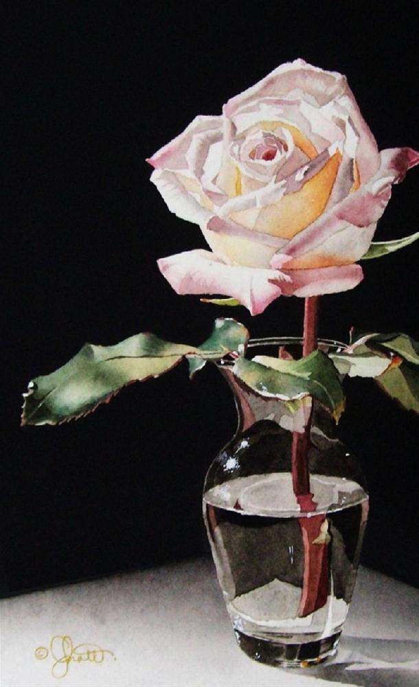 """""""Sparkle!"""" original fine art by Jacqueline Gnott, whs"""