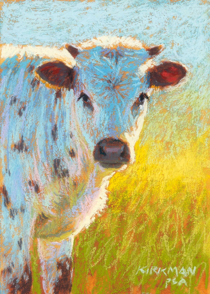 """Sesame"" original fine art by Rita Kirkman"