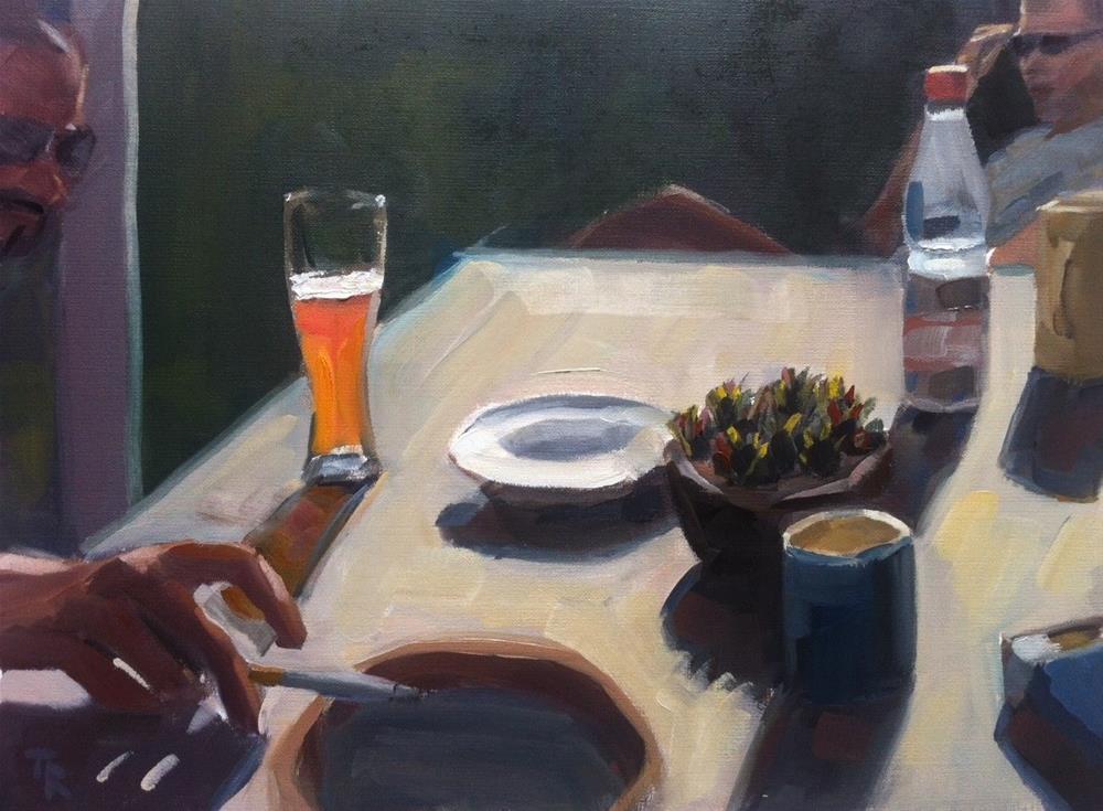 """""""Enlightning Times"""" original fine art by Thomas Ruckstuhl"""
