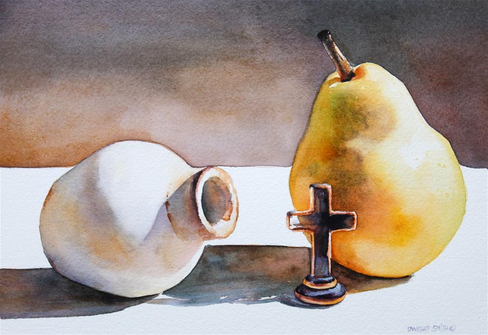 """ MATTHEW 11:28 "" original fine art by Dwight Smith"