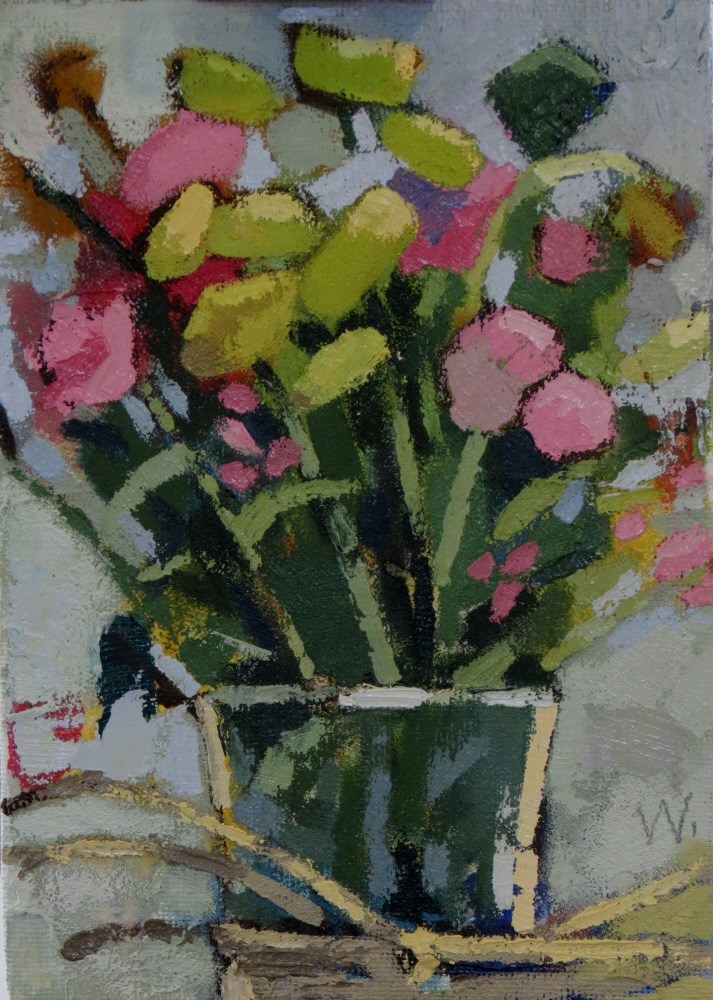 """Spring Gift"" original fine art by Joan Wiberg"