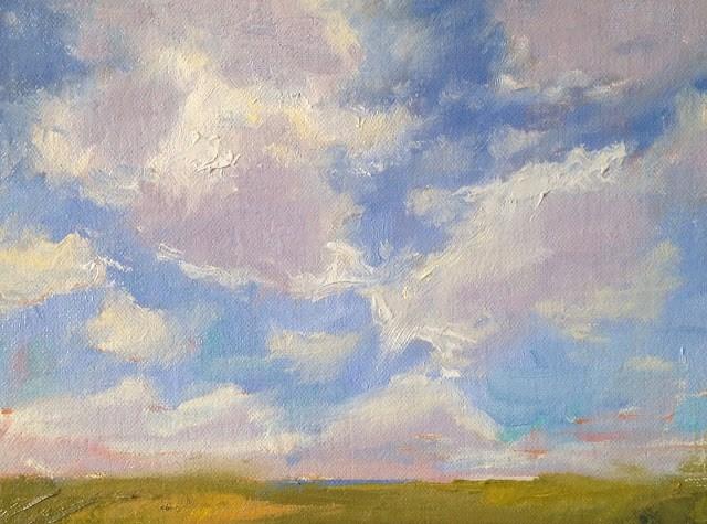 """Cloud Patterns"" original fine art by Fine Art of René"
