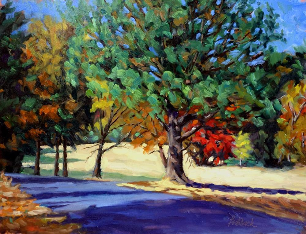 """Autumn Splendor"" original fine art by Daniel Fishback"