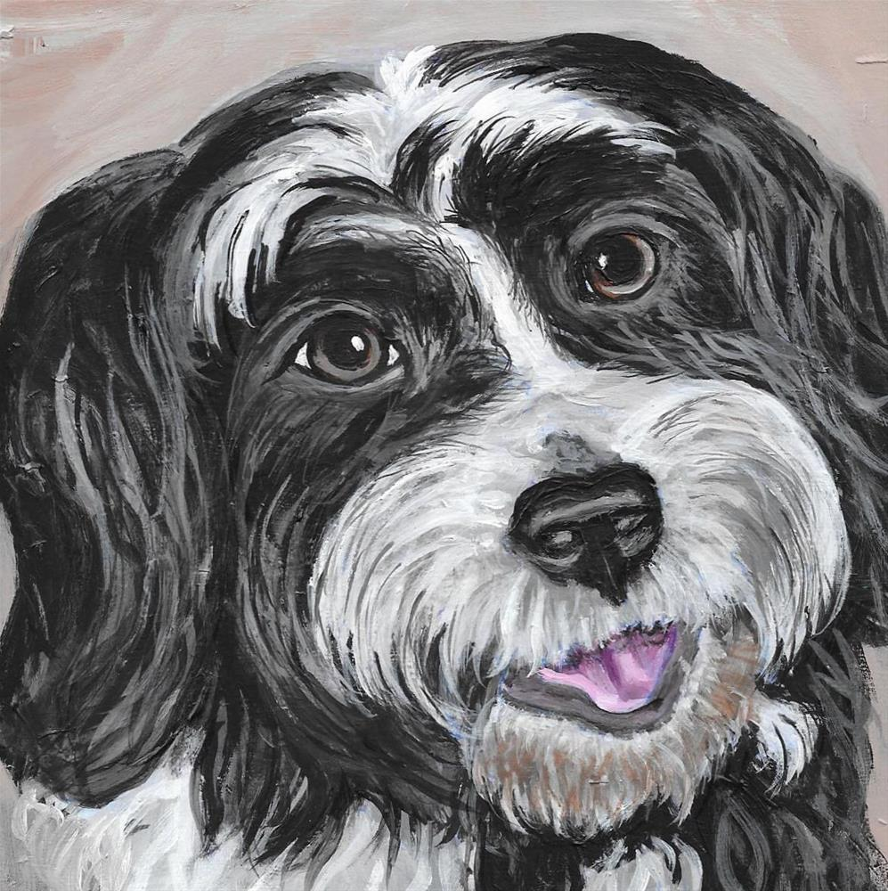"""Lexie"" original fine art by Lisa Wiertel"