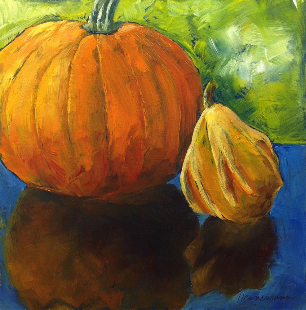 """""""Harvest Buds"""" original fine art by Eileen Hennemann"""