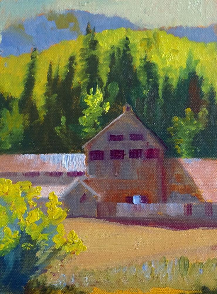 """Old Silver Mine, Park City"" original fine art by Nancy Paris Pruden"